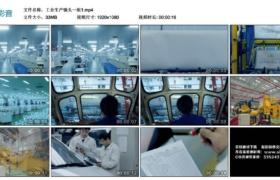 【高清实拍素材】工业生产镜头一组1