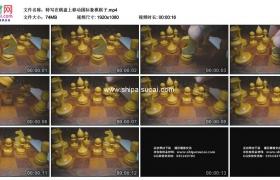 高清实拍视频素材丨特写在棋盘上移动国际象棋棋子