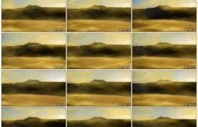 4K实拍视频素材丨沙漠上风吹起沙尘纷飞