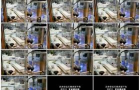 高清实拍视频素材丨特写正在运行的生产流水线