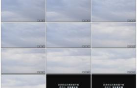 高清实拍视频素材丨天空中厚厚的云层缓缓流动延时摄影