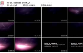 4K实拍视频素材丨闪电划破夜空 电闪雷鸣