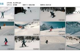 高清实拍视频丨高山滑雪