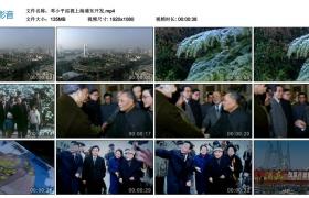 高清实拍视频丨邓小平巡视上海浦东开发