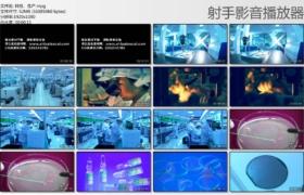 [高清实拍素材]科技、生产