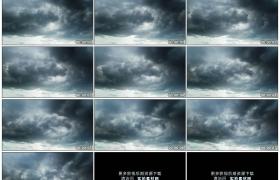 高清实拍视频素材丨天气变化 天空中乌云涌动滴下雨滴