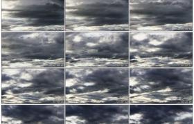高清实拍视频素材丨天空中乌云漂浮流动