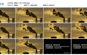 高清实拍视频素材丨能源工厂的大气污染
