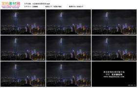高清实拍视频素材丨台北城市夜景风光