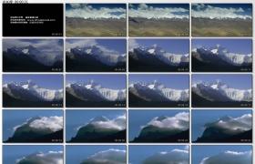 [高清实拍素材]西藏雪山一组1