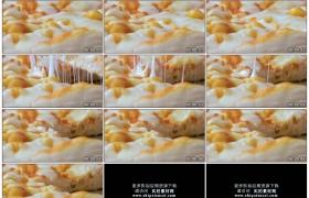 4K实拍视频素材丨特写切分鲜艳美味的披萨