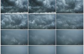 高清实拍视频素材丨天气变化 厚厚的乌云涌动遮住天空延时摄影