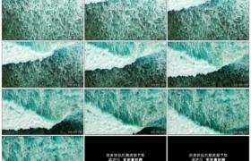 4K实拍视频素材丨航拍大海海面上波浪翻滚