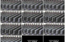 高清实拍视频素材丨拉焦拍摄混音器面板上的调节旋钮