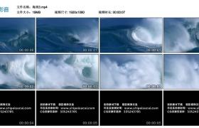 【高清实拍素材】高清海浪实拍视频素材3