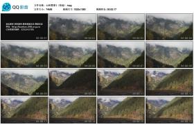[高清实拍素材]山林雾景1(快速)