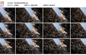 高清实拍视频素材丨仰拍高耸的居民楼
