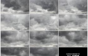 高清实拍视频素材丨天气变化 暴雨前厚厚的乌云从天空中飘过延时摄影