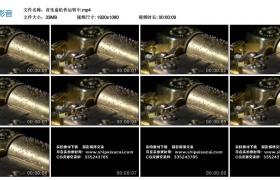 高清实拍视频丨音乐盒机件运转播放音乐