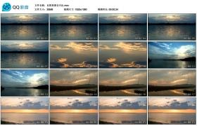 【高清实拍素材】自然美景含日出