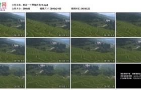 4K实拍视频素材丨航拍一片翠绿的梯田