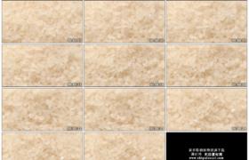 4K实拍视频素材丨晶莹饱满的米黄色大米米粒