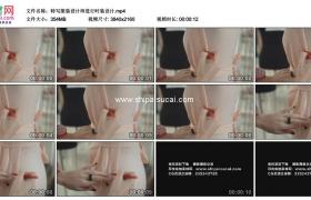 4K实拍视频素材丨特写服装设计师进行时装设计