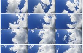 高清实拍视频素材丨蓝天上白云涌动延时摄影
