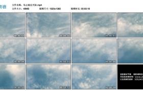 高清实拍视频素材丨乌云流过天际