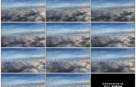 高清实拍视频素材丨飞机在云层之上飞行