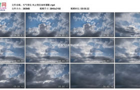 4K实拍视频素材丨天气变化 风云变幻延时摄影
