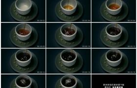 高清实拍视频素材丨特写将咖啡倒入咖啡杯中