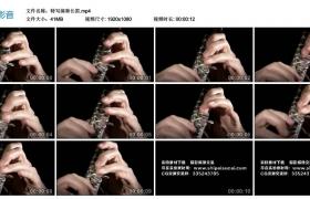 高清实拍视频丨特写演奏长笛