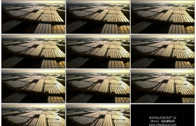 4K实拍视频素材丨航拍一大片农田大棚