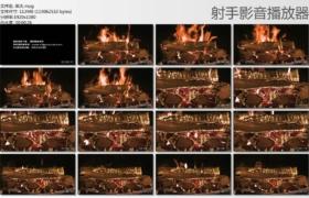 [高清实拍素材]柴火
