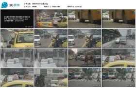[高清实拍素材]拥挤的重庆交通