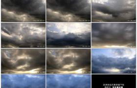 高清实拍视频素材丨天气变化 天空中风云涌动