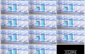 4K实拍视频素材丨蓝色液体滴入到透明玻璃试管慢慢增加生物化学实验