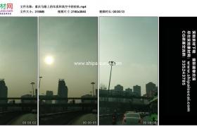 4K实拍视频素材丨重庆马路上的车流和高空中的轻轨 抖音 手机视频素材