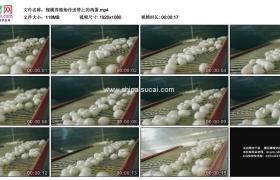 高清实拍视频素材丨规模养殖场传送带上的鸡蛋