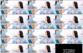 4K实拍视频素材丨女子在牙科诊所咨询牙齿问题