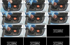4K实拍视频素材丨特写给电动汽车充电