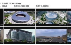 [高清实拍素材]北京城市人文风光一组