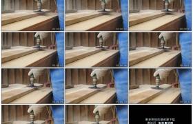 高清实拍视频素材丨特写用砂轮加工打磨木板