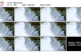 高清实拍视频丨清澈的水流