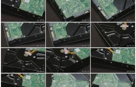 高清实拍视频素材丨特写电脑机械硬盘