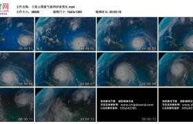 高清实拍视频丨卫星云图看气旋和洋流变化