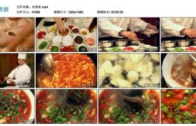 【高清实拍素材】水煮鱼