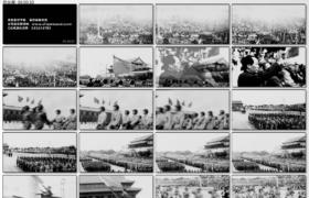 [高清实拍素材]毛泽东阅兵
