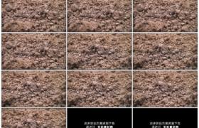 4K实拍视频素材丨摇摄翻新后田地中的泥土土壤